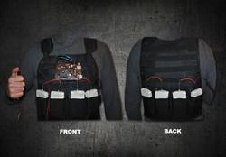 Movie Prop Terrorist Bomb Vest Movie Prop