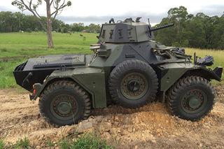 Ferret Scout Car Mark 2 MOVIE PROP HIRE