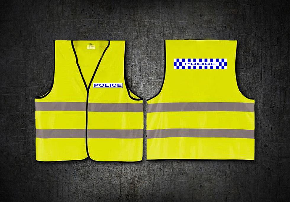 Police High Vis Vest