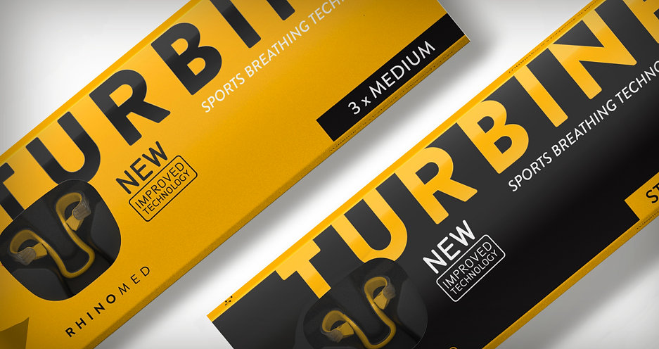 Packaging design for Turbine