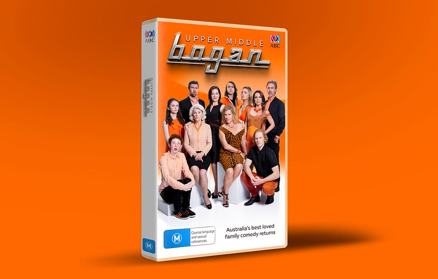 Key art design for Upper Middle Bogan Series 3 comedy TV show