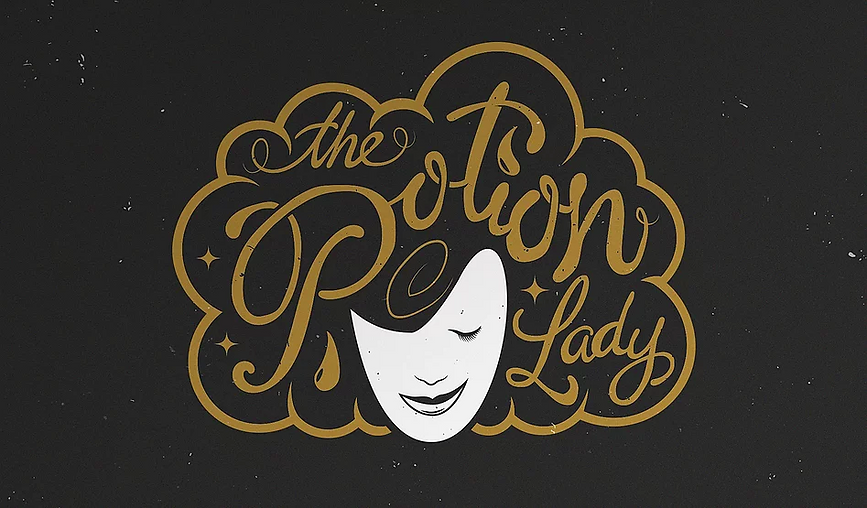 Logo design for The Potion Lady