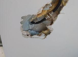 תיקון נזילה סמויה בקיר