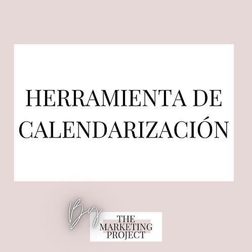 Herramienta de Calendarización de proyectos