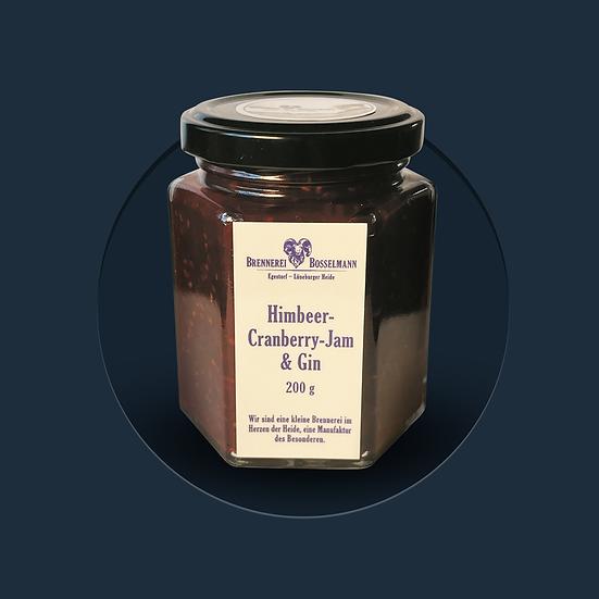 Himbeer-Cranberry-Jam & Gin