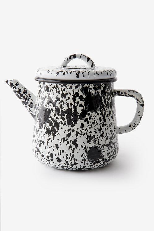 Monochrome Tea Pot