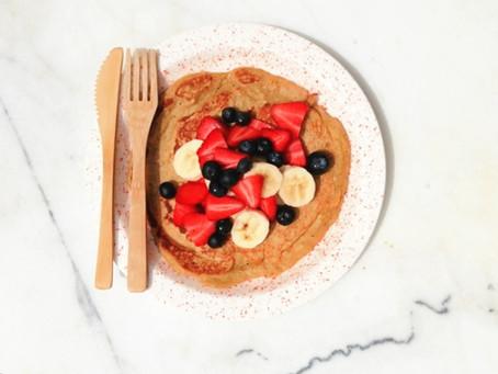 Oats pancake.