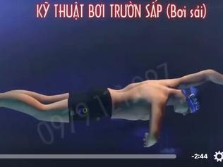 Ce nageur virtuel peut il vous blesser ?