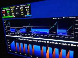 Home Trainer: Utiliser le wattage Virtuel