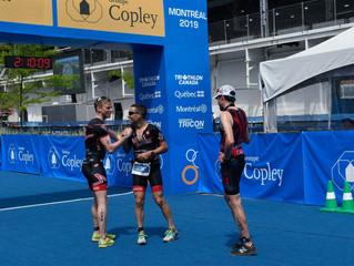 3 victoires au Triathlon Mondial Groupe Copley Montréal