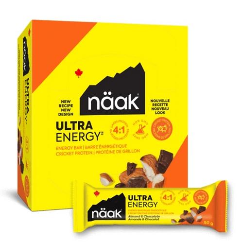 Barres Näak Ultra Energy (12x50g)