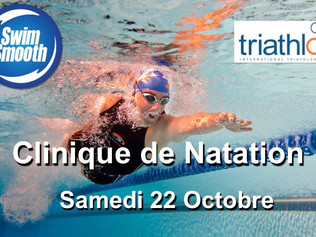 Clinique de natation d'1 jour / Swim Smooth's 1 Day Clinic