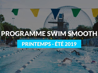 Programme SwimSmooth Printempts - Été 2019