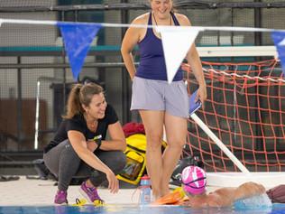Justine Brousseau rejoint l'équipe des entraineurs de Swim Smooth Montréal