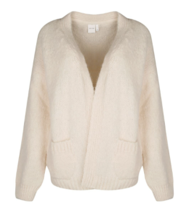 Knit-ted 212P36 Bernelle Cardigan Ivory