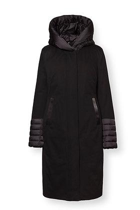 Co Exist 202.40.02 High Tech Twill Coat Black