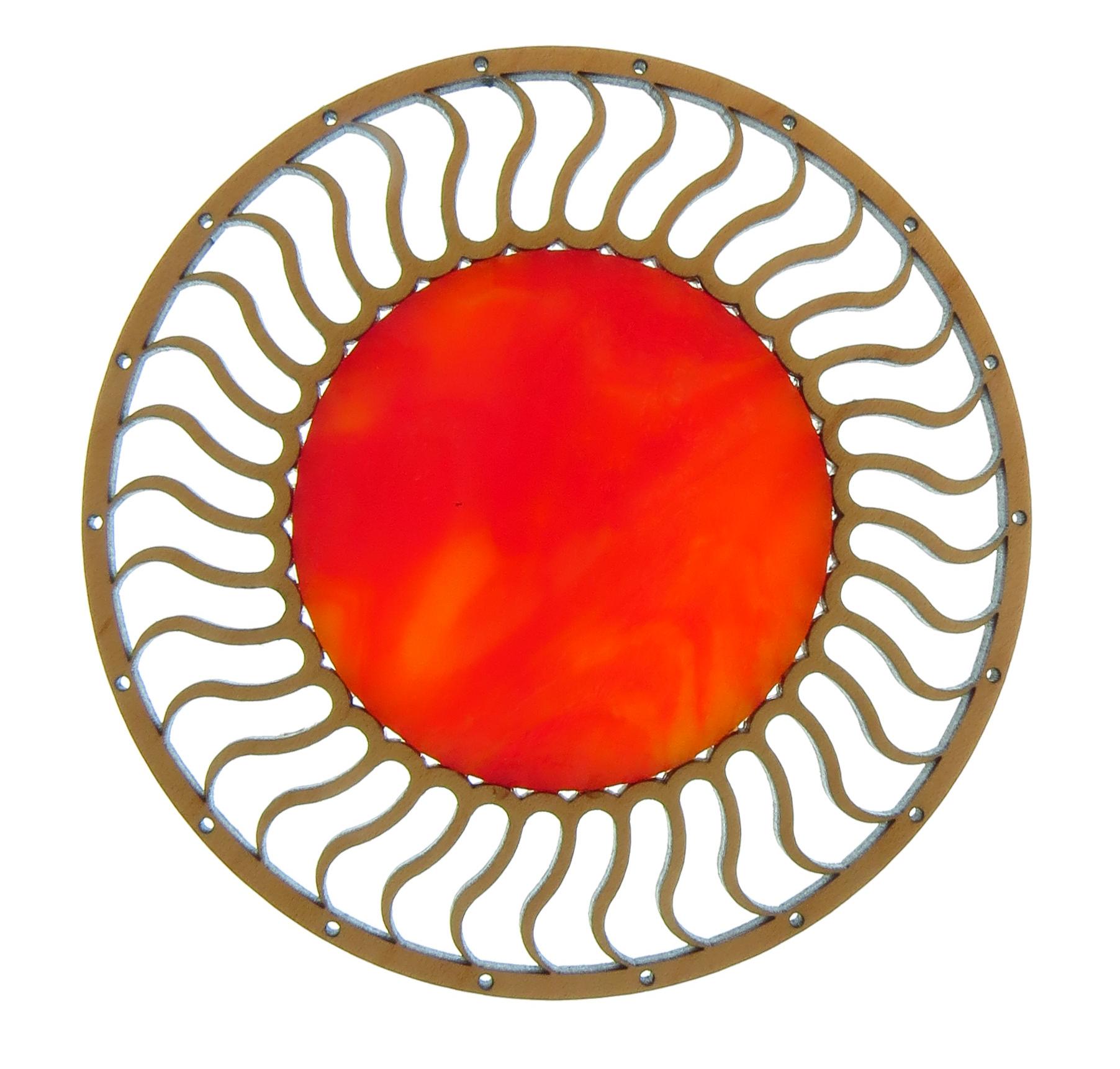 Sun Red Orange
