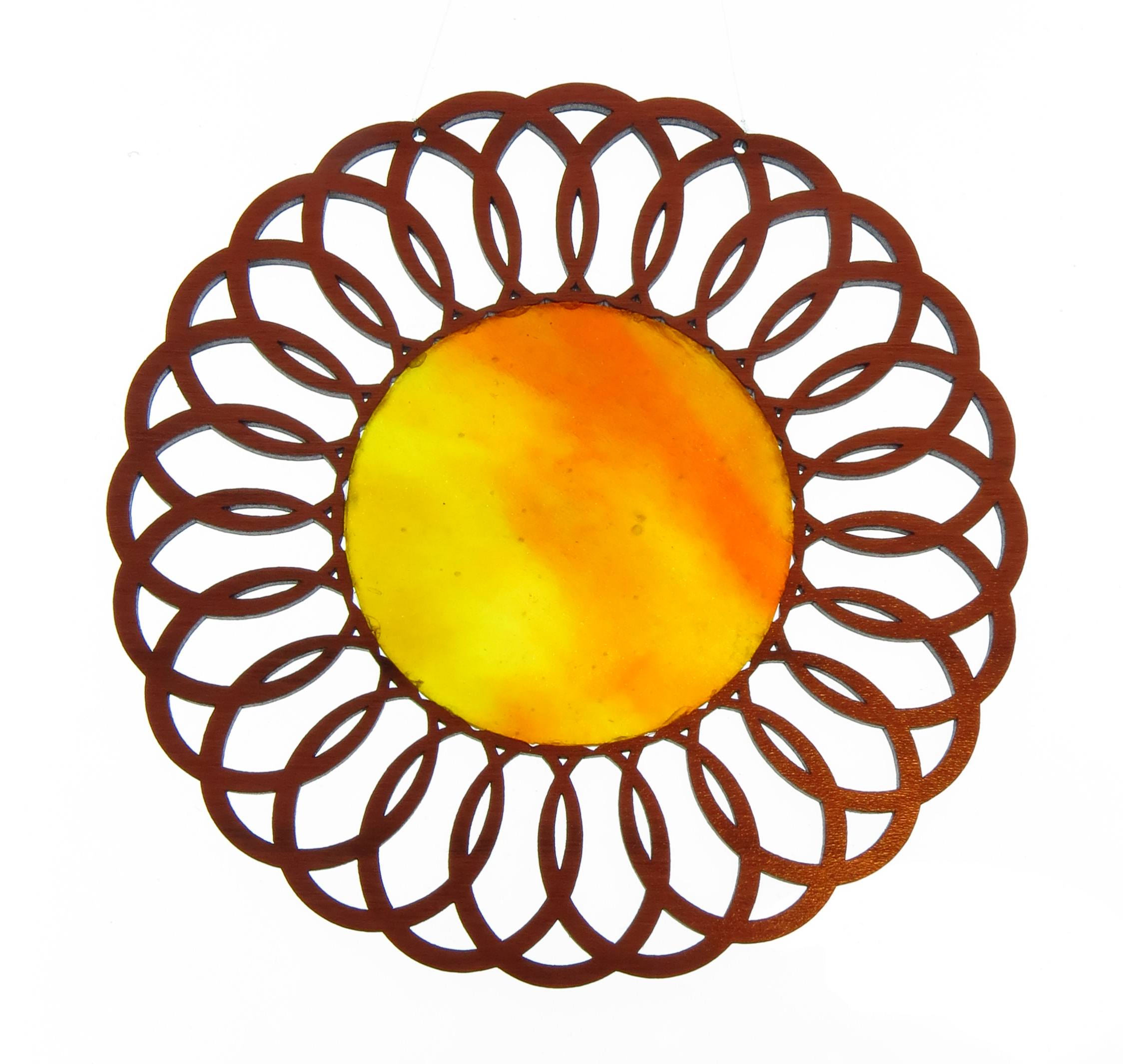 Large Flower Sun Glass