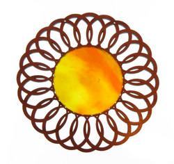 Large Flower Sun Glass