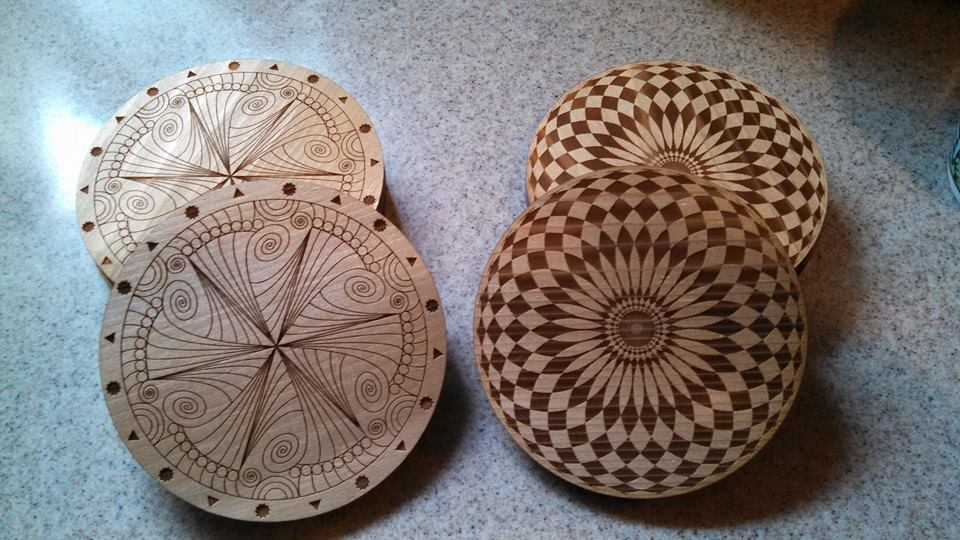 zen and spi coasters