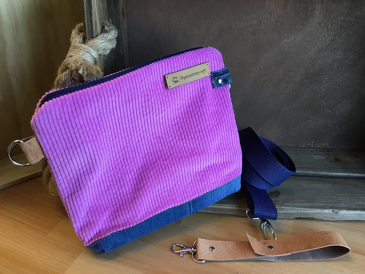 Multifunktionale Tasche in Rosa