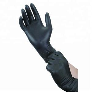 Black Latex Examination Gloves