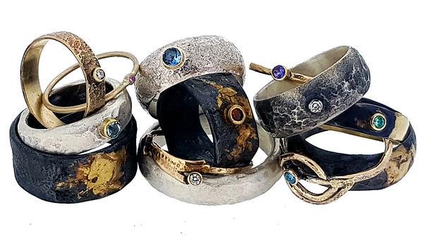 Niziblian jewellery rings