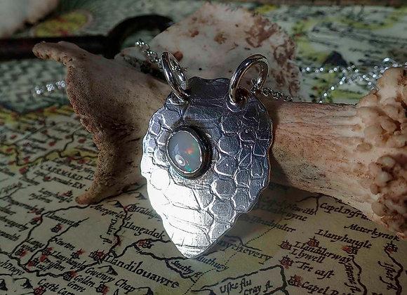 Dragon Scale Opal Pendant