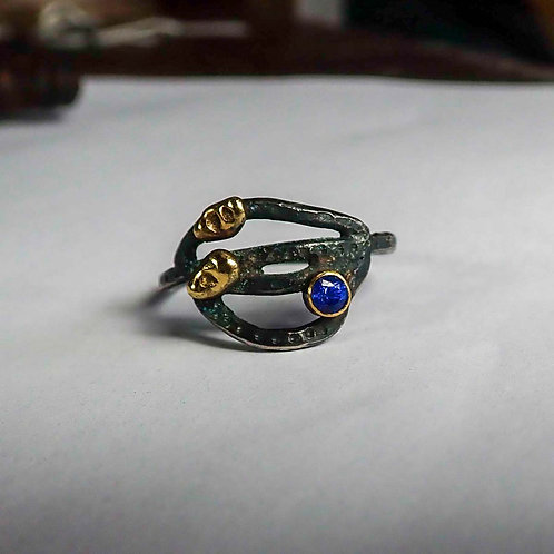 Root Ring: Sapphire version