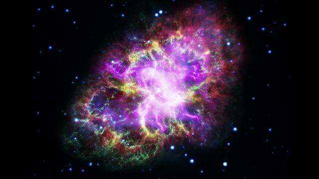 Crab Nebula, from NASA's amazing image gallery.