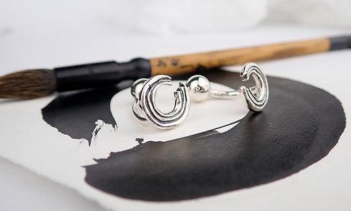 Ensō cufflinks