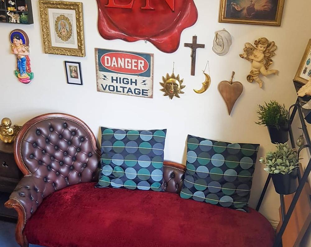 Lydia's studio seat