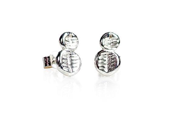 Stud earrings #14