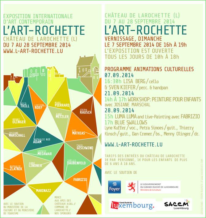 exposition a Larochette, Luxembourg
