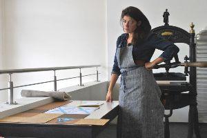 Article du Wort - résidence au musée de l'imprimerie septembre 2013
