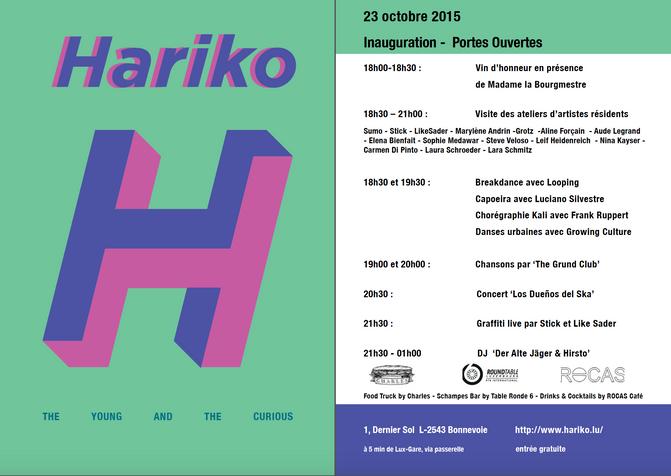 Inauguration HARIKO