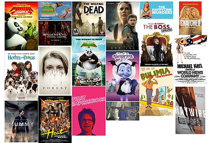 Some of the Films Barbara Heller and her Voice Over work can be Found- Filmography Collage .jpg