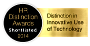 HR Distinctive Award Shortlist 2014; Distinction in Innovative Use of Technology