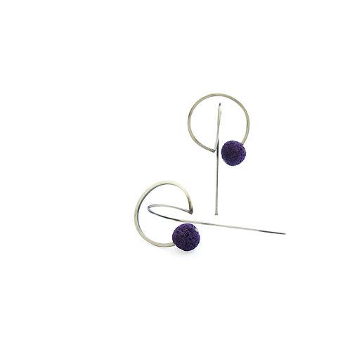 Seed Earrings // Tohum 124