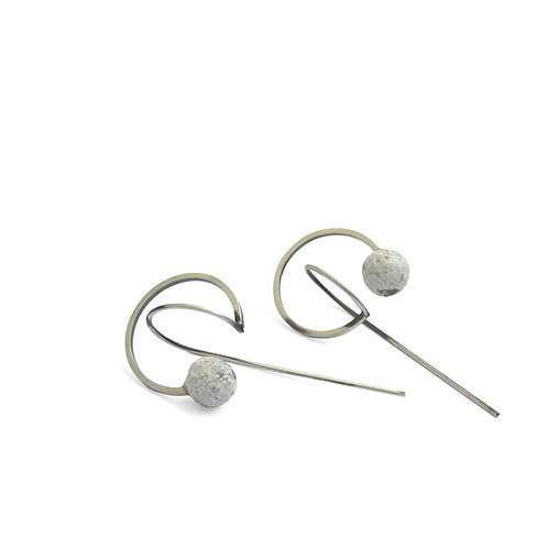 Seed Earrings // Tohum 126