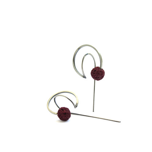 Seed Earrings // Tohum 129