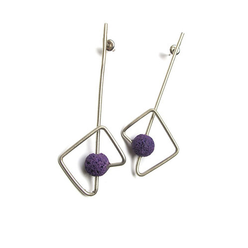 Seed Earrings // Tohum 74