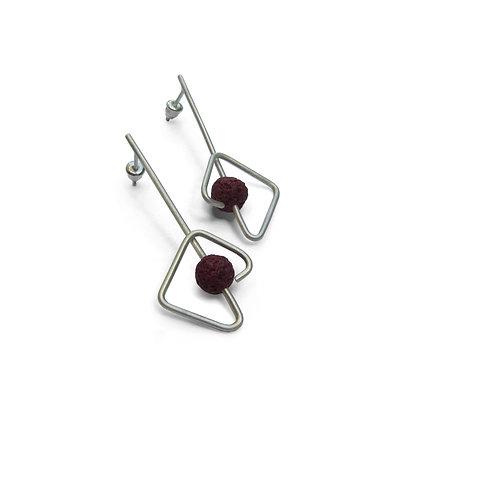 Seed Earrings // Tohum 133