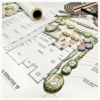 Conception de plan d'aménagement paysager et d'amé