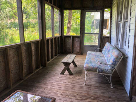 Downstairs Screened Porch