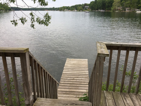Willows Step-down to Private Dock