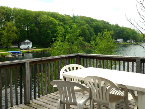 View from West Deck, Bird's Eye View of Lake