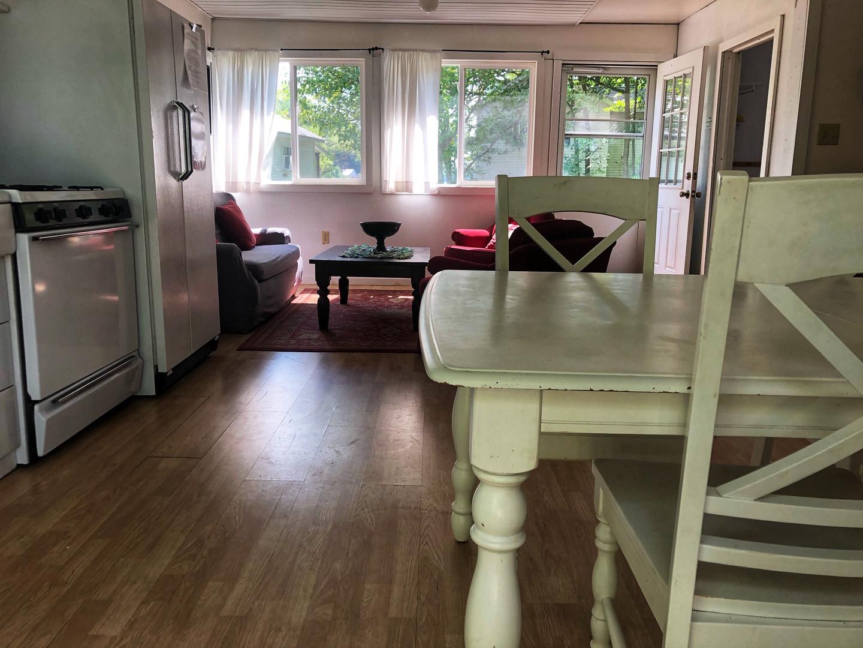 Living Area from Sliding Door