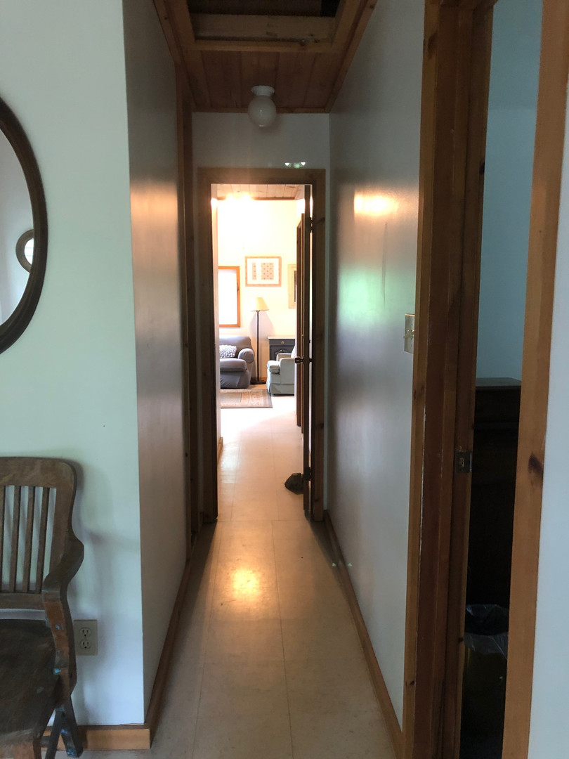 Hallway Connecting to Twin Side of Duplex
