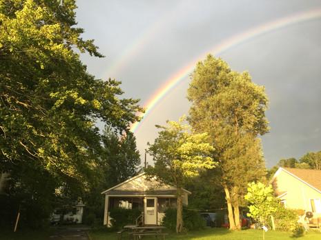 Maples Double Rainbow!